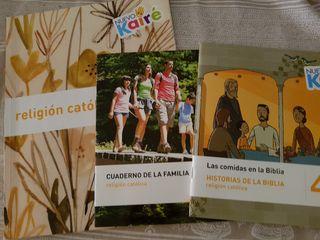 Libro Religión Católica. Cuarto primaria. PPC sm