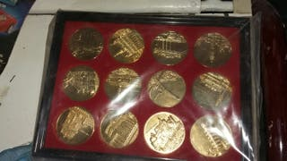 monedas maravillas del mundo