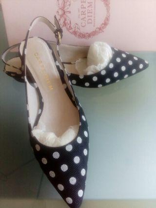 Zapatos mujer carpe diem 38 nuevos,buena marca!!!
