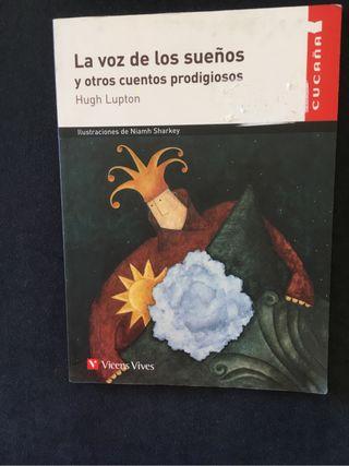 Libro lectura La voz de los sueños.Cucaña