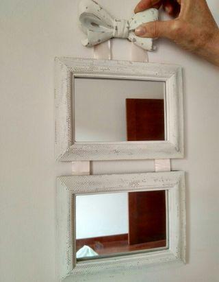 marco cuadro espejo vintage. De diseño