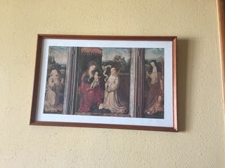 Lamina con motivo icono griego