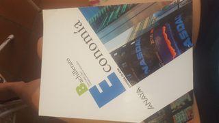 Libro de texto ECONOMÍA. Bachillerato.
