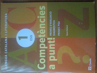 Libro Llengua catalana i literatura. 1Eso.