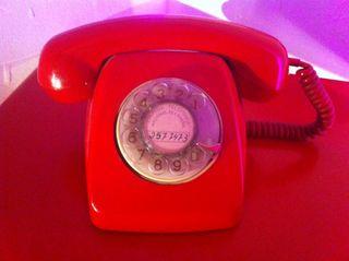 Telefono Rojo Antiguo