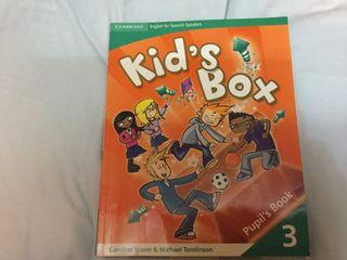 Libro ingles KIDS BOX 3