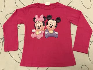 Camiseta Mickey Minnie, talla 5