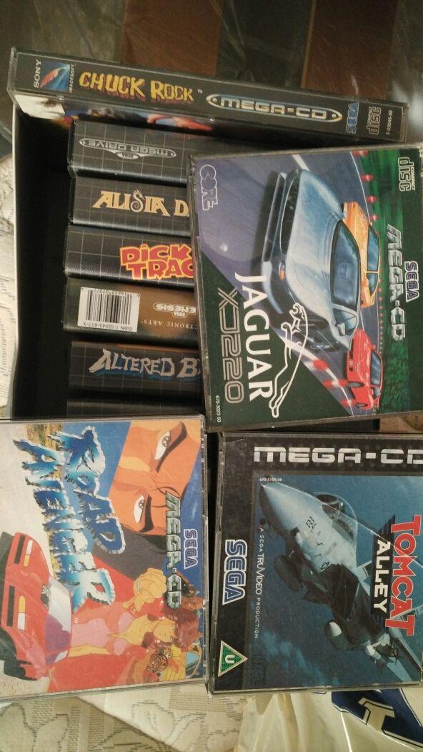 Sega megadrive mega cd