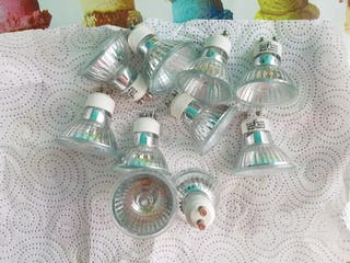 Lote 10 bombillas halógenas