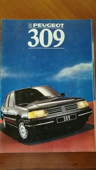 Catalogo Publicitario PEUGEOT 309