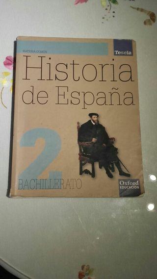 Libro Historia 2° Bachillerato