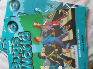 libro ingles BUGS WORLD 6