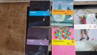libros de 4º primaria de texto