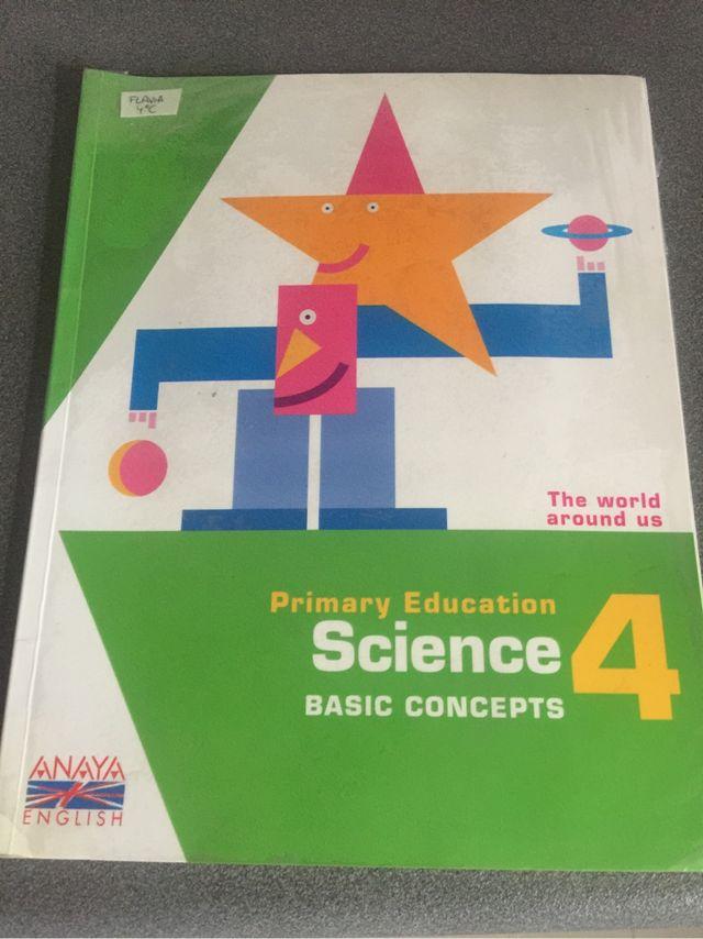 Libro science naturales ingles cuarto primaria de segunda mano por 8 ...