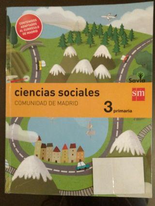 Libro Sociales. Madrid. Edit. SM. 3 Primaria