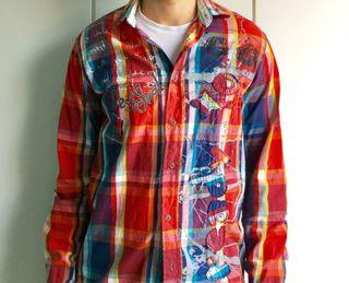 Camisa marca Desigual hombre