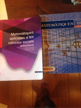 Libros bachillerato matematica