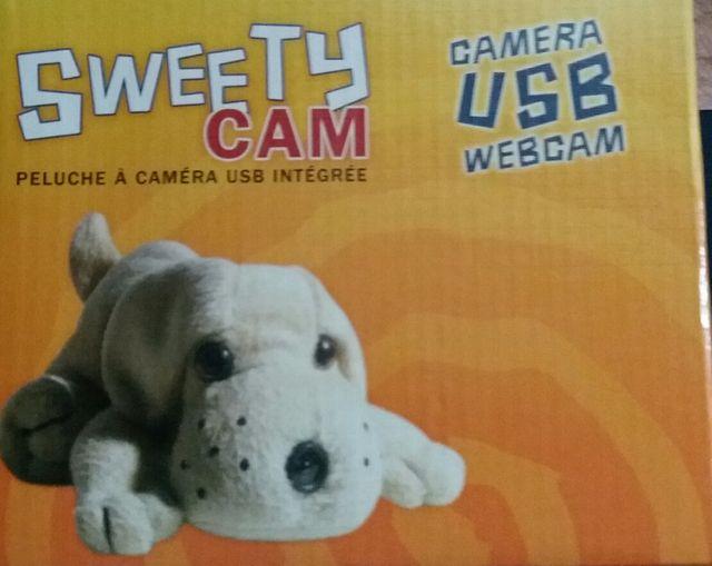Camara usb webcam peluche Nueva sin usar