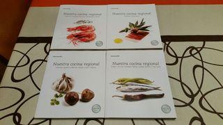 """Colección """"Nuestra cocina regional de Thermomix """"."""