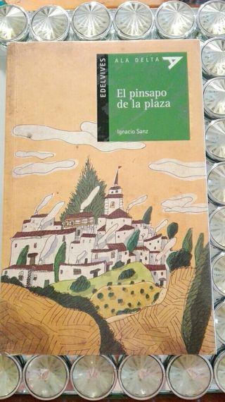 Libro de lectura El pinsapo de la plaza