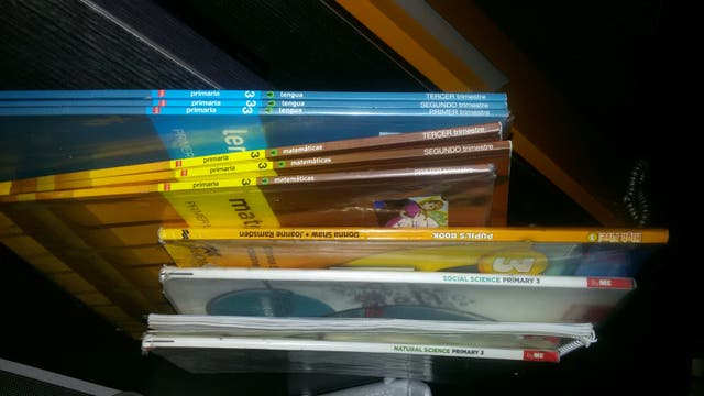 libros de texto de 3 de primaria José hierro