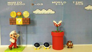 Diorama Super Mario