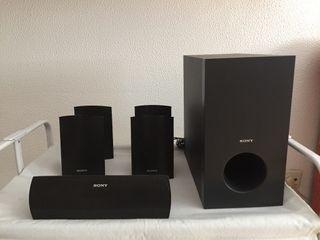 Conjunto altavoces Sony