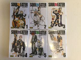 6 comics manga japoneses