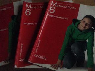 Matematicas 6 Anaya 3 trimestr
