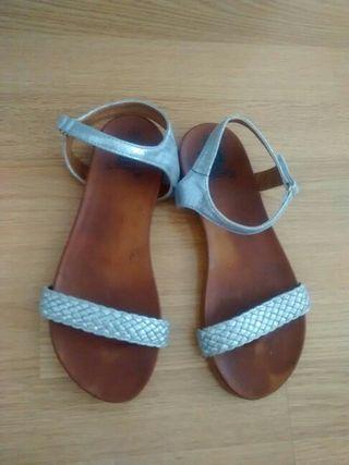 sandalias, zapatos mujer, T.38