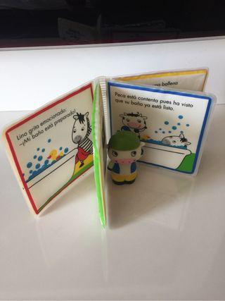 Lote Libros cuento baño bebe