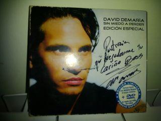 """David de Maria""""Sin Miedo a Vivir"""", firmado."""