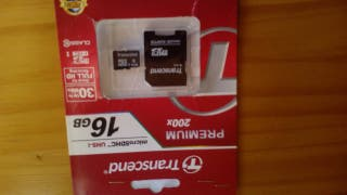 TARJETA 16 GB. NUEVA