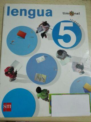 Libro Lengua SM 5° Primaria