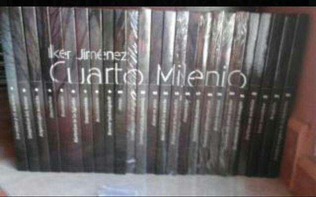 Colección completa CUARTO MILENIO 25 Libros-dvds . de segunda mano ...