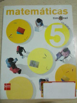 Libro Matematicas SM 5° Primaria
