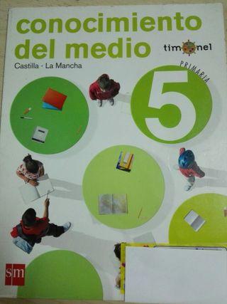 Libro Conocimiento del Medio SM 5° Primaria
