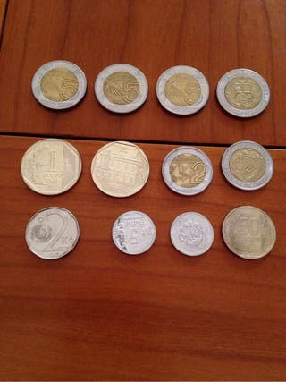 Lote monedas Peruanas