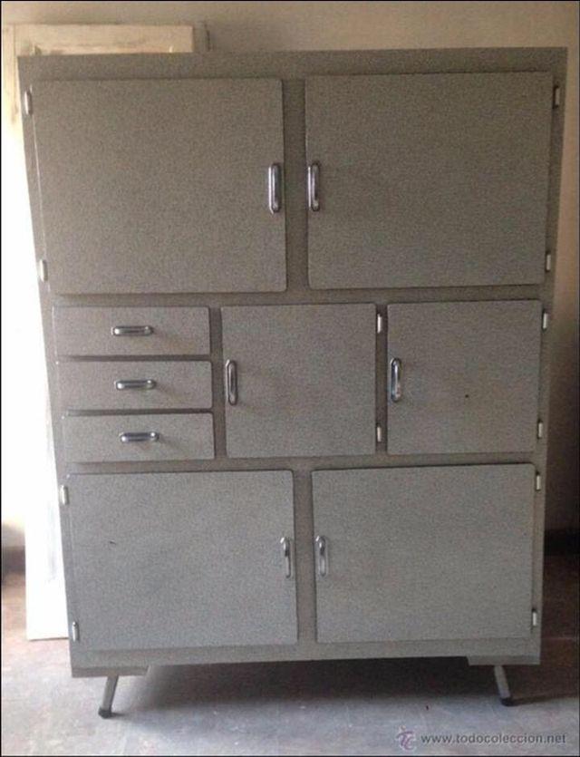 Mueble formica cocina vintage de segunda mano por 400 en for Muebles de cocina en oviedo