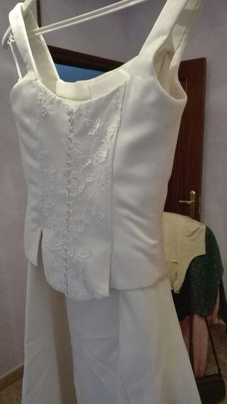 vestido de novia de segunda mano en valladolid en wallapop