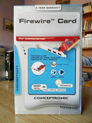 Tarjeta Firewire Conceptronic