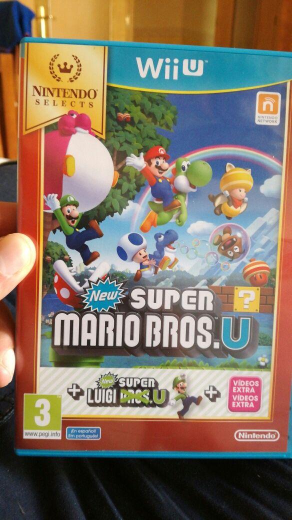 Juego Para Wii U Super Mario Bros De Segunda Mano Por 20 En