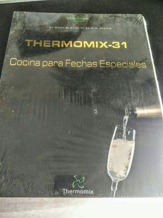 Thermomix 31 libro recetas PRECINTADO