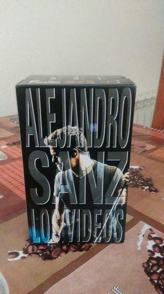 Cinta de video Alejandro Sanz