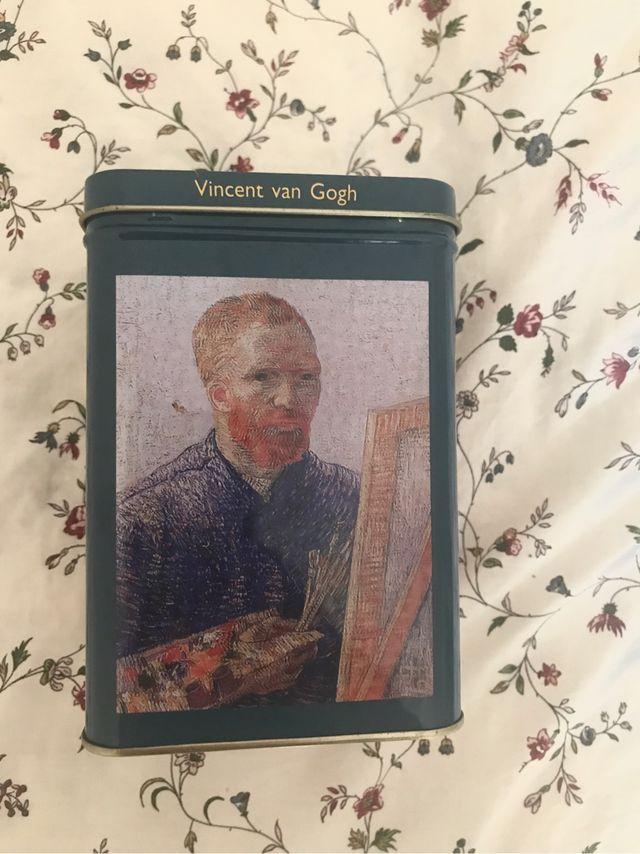 caja galletas latón Van Gogh