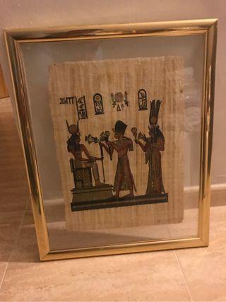 Cuadro lamina egipcia
