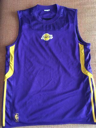 Camiseta baloncesto reversible entrenamiento LA La