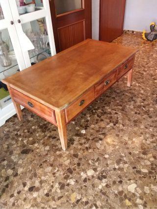 Mesa comedor madera de segunda mano en wallapop - Garajes de madera de segunda mano ...