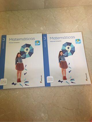 Libros 3 primaria de Matematic