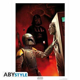 Star Wars póster (Trinity) + regalo negativo